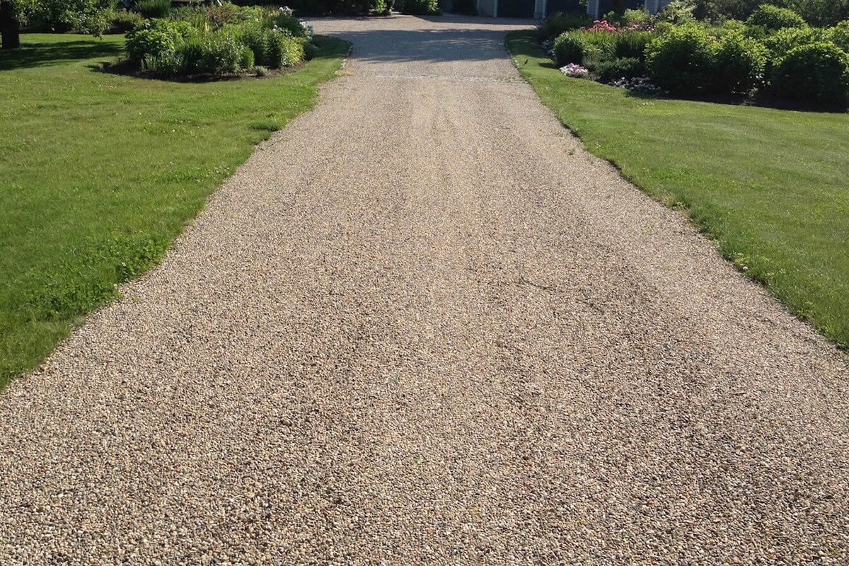 Save cost by using chip seal on your driveway