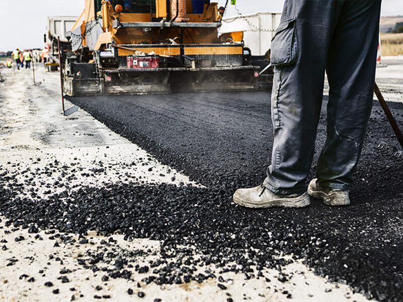 New Asphalt Construction